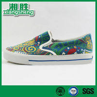 Colorful Printed Women Canvas Shoes