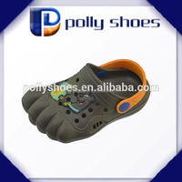 2015 new five finger toe shape children clog shoes