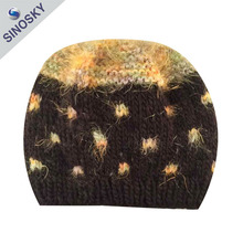 Wholesale High Quality Fashion Women Winter Hat/Winter Knitted Wool Hat