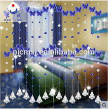 Blue Butterfly Crystal Bead Curtains for decoration or wedding thank you gifts