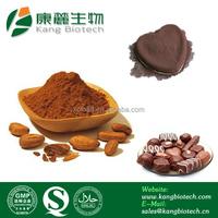 Cocoa seed p.e. cocoa extract powder 6%, 10%, 20%, 98% theobromine powder free sample Theobromine