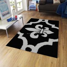 Anti slip multiple polyester custom floor mat