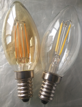 ebay best seller dimmable led candle bulbs vintage filament bulbs e12 120v led lighting made in china
