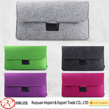 2015year popular style felt laptop carrying case for girls made in china