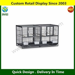 Pet Hampton Breeder Cage, Deluxe Divided, Pull-out tray, grille, Side doors YM5-547