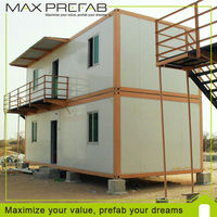 USD200 Coupon Maxprefab Convient Habitable Steel Container Home Kits