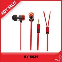 free sample super bass earphones, metal made china earphone