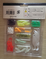 fishing lure manufactures 10 different kind set clam pack lure set