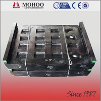 high quality Pegson 1165 jaw standard fixed and swing jaw liner plate available with competitive China foundry price