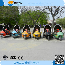 Rain proof Three wheel electric scooters with different colors from factory