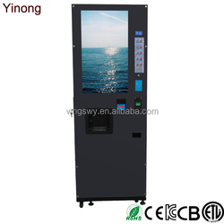Freestanding Vending Machine With LCD Display Screen
