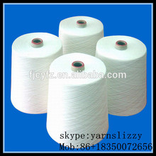 ring spun yarn 100% polyester ring spun yarn 30/1 40/1 cheap price