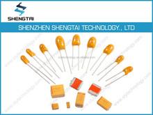 Tantalum capacitor 0.1UF 35V 10% TAJA104K035RNJ non polar electrolytic capacitor