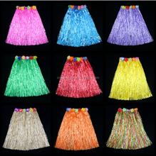 Multi Color Hawaiian Luau Hula Grass Skirt