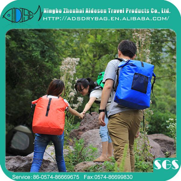 12(Dia)*24CM Size 1.5 liter capacity colorful pvc ocean pack waterproof dry bag