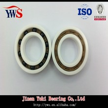 Si3N4 balls PEEK cage ZrO2 rings 6205 ZrO2 Full ceramic bearing