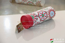 Rigid, gift boxes with ribbon cardboard gift paper tube