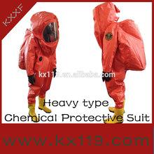 100% química del gas apretado y ropa de protección contra incendios ropa
