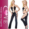 OEM supply hollow out design jumpsuit style women nighty sexy mature woman lingerie