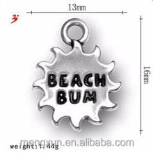 Sunshine beach letters' moom 'means' pendant