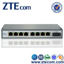 ZTEcom High Quality Fast Ethernet POE Switch 8 port for IP Cameras