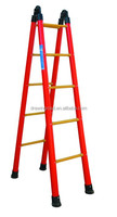 High Quality High Insulation Frp Foldable Easy Store Step Ladder