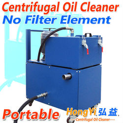 Hot sale Centrifugal lubrication oil cleaning system