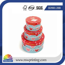 High quality custom china supplier printing luxury with lid knitted cap box