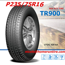 New China best price 4x4 mud all terrain tires P235/75R16