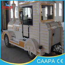 outdoor park tourist play game diesel train equipment