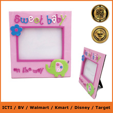 beautiful baby photo frame/picture photo frame/newborn baby photo frame