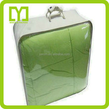 China plastic high quality wholesale clear vinyl pvc zipper bags with handles