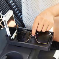 New Black Car Organizer Car Storage Automotive Box trash catc holder For Tools Mobile Phone sun glasses travel kit