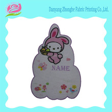 Kids washable fabric name sticker for garment decoration