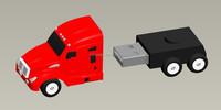 customized truck shape 4G USB