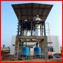 High profit vacuum oil purifier to convert base oil without adding chemicals in process