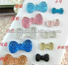Resin flower flat back for jewelry decoration!!DIY Resin Rhinestones for Phone Decoration!!