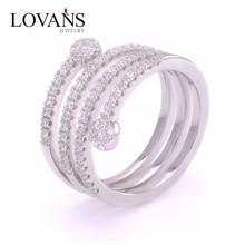 Ring Zircon Trendy Jewelry Custom Signet Ring FR213-4
