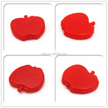High quality BPA free Apple shape plastic gel ice pack cooler for lunch bags
