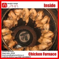 Hot Sale Charcoal/Electric Chicken Grill Machine