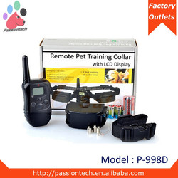 Suitable for all sizes dogs training collars with remote best profit , one dog o two dogs , 300 meters