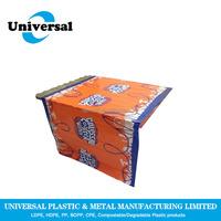 Cheap disposable plastic tablecloth