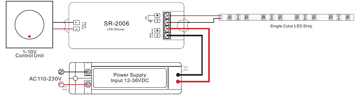 0 - 10 V Gradateur 1 - 10 V Dimmer    1