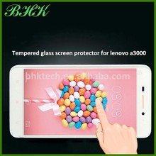 nano liquid shatter proof tempered glass screen protector for lenovo a3000 , waterproof screen protector