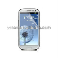 Lcd screen protective film for samsung Galaxy s3 i9300 oem/odm