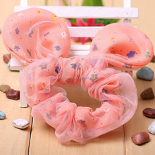 latest design color animal ear warmer headband,elastic headband