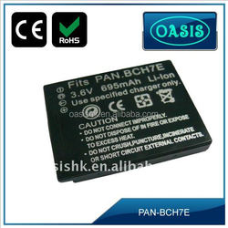 3.6V Rechargeable Li-ion Camcorder Battery For Panasonic DMW-BCH7E