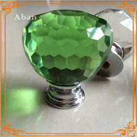 colorful crystal ball drawer knobs