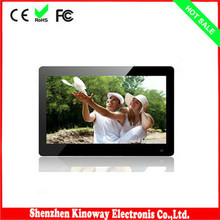 LCD photo Album /photo player LCD 1024*768 13.3 inch digital photo frame with CE/FEE/ROHS certificates