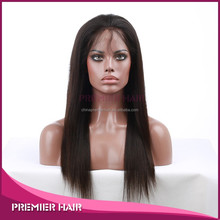 wholesale top quality malaysian virgin hair wig glueless silk top full lace wig
